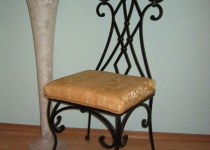 Кованый стул