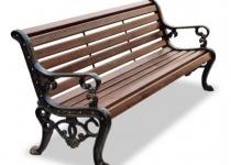 """Чугунная скамейка """"Аллея"""""""