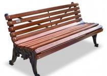 "Чугунная скамейка  ""Белые Ночи"""