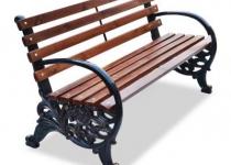 "Чугунная скамейка ""Карусель"""