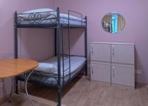 Кованая двухъярусная кровать