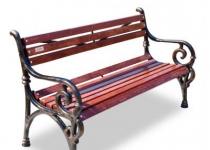 """Чугунная скамейка """"Нега"""""""