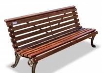 """Чугунная скамейка """"Нева"""""""