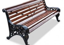 """Чугунная скамейка """"Парковая Тишь"""""""